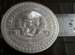 5000 франків 2014 року Бурунді -копія /посрібнення 999/, фото №3