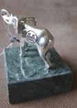 Статуэтка фигурка миниатюра серебро серебряная Слоник, фото №4