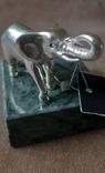 Статуэтка фигурка миниатюра серебро серебряная Слоник, фото №5
