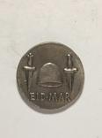 Древняя Греция копия монеты посеребренная г104, фото №3