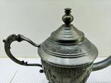 Чайник - заварник Германия. Олово. Клеймо, фото №5
