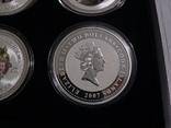 """Набор из 4 монет """"Шерлок Холмс"""" - 4 унции, серебро 999 - ПОЛНЫЙ КОМПЛЕКТ, фото №8"""