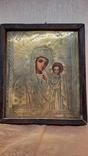 Икона Казанской Божией Матери 19 век, фото №6