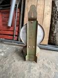 Лампа керосиновая. Зелёная., фото №6