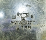 Чайник антикварный james dixon sons 1823 - 1920. Англия, фото №5