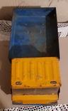 Большая (35,5 см.) железная грузовая машинка СССР 70-е годы, фото №4