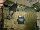 Фляга пластиковая USA 2QT с чехлом олива и ремешком через плечо (Mil-Tec, Германия), фото №8