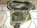Фляга пластиковая USA 2QT с чехлом олива и ремешком через плечо (Mil-Tec, Германия), фото №12