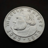 2 марки 1933 (D) Мартин Лютер, фото №2