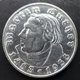 2 марки 1933 (D) Мартин Лютер, фото №4
