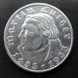 2 марки 1933 (E) Мартин Лютер, фото №4