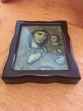 Ікона дерев'яна Божої Матері в кіоті, фото №2