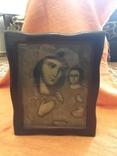 Ікона дерев'яна Божої Матері в кіоті, фото №10
