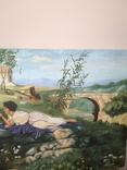 Стара картина 60-тих рокків, фото №4