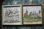 Плакетки Церковь, Монастырь, фото №2