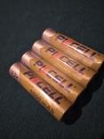 Акумулятори 1000мА (4шт) тип ААА, фото №2