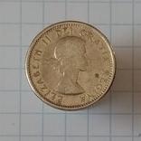 10 центов 1960г Канада серебро, фото №2