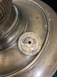 Бронзова лампа Чудо,дореволюційна, фото №6