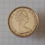 25 центов 1967г Канада серебро, фото №3