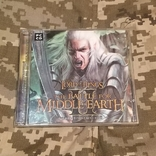 Диск PC CD-ROM The battle for MIDDLE EARTH II, фото №2
