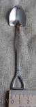 Сувенирные ложечки в виде лопаты.2 шт., фото №7