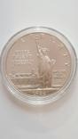 1 доллар США 1986 года. Статуя Свободы, серебро, фото №5