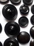 Винтажные пуговицы на жупан корсетку верхнюю одежду ( бакелит) 21 шт, фото №6