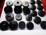 Винтажные пуговицы на жупан корсетку верхнюю одежду ( бакелит) 21 шт, фото №10