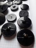 Винтажные пуговицы на жупан корсетку верхнюю одежду ( бакелит) 21 шт, фото №11