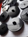 Винтажные пуговицы на жупан корсетку верхнюю одежду ( бакелит) 21 шт, фото №12