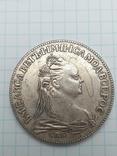 Рубль 1757 года, копия, фото №2