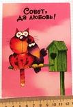 Открытка чистая: Совет да любовь! / худ-к С. Трубников, изд-во Нью Тон, фото №2