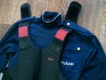 Защитный жилет Body pro + Polizei свитер, фото №7