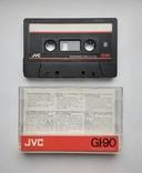 Аудиокассета JVC GI-90 (Jap), фото №2