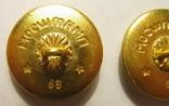Пуговицы генеральские, 1963 г., 2.4 см., фото №6