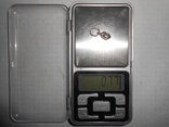 Кулон Серебро 925 Вес - 0,77 грамм, фото №7