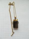 Кулон на цепочке. Серебро, фото №4