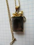 Кулон на цепочке. Серебро, фото №5