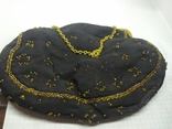 Вечерняя винтажная сумочка с латунной застежкой и цепочкой, фото №7