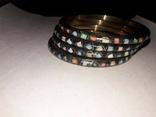 Набор из 4х стильных браслетов, фото №2