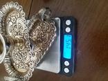 Серебряные подсвечники 925 проба, фото №7