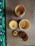 Боченки для меда и деревянная чашка., фото №4