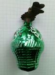 Елочная игрушка Корзина с цветами СССР прищепка, фото №3