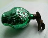 Елочная игрушка Корзина с цветами СССР прищепка, фото №7