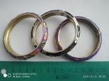Три браслета в стиле клуазоне., фото №3