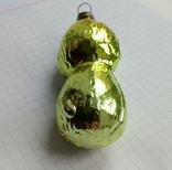 Елочная игрушка Собачка желтая СССР, фото №6
