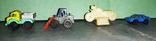 Мини-транспорт на колёсиках -4шт, фото №3