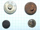 4 пуговицы СА СССР (две большие и две малые), фото №6
