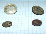 4 пуговицы СА СССР (две большие и две малые), фото №9