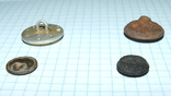 4 пуговицы СА СССР (две большие и две малые), фото №12